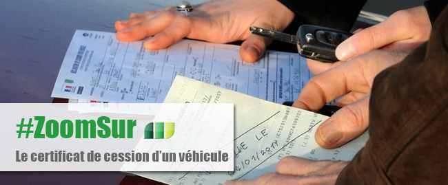 Cession v hicule comment faire certificat de cession for Faire carte grise garage