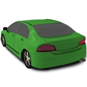 Annonces pièces Face arrière Nissan